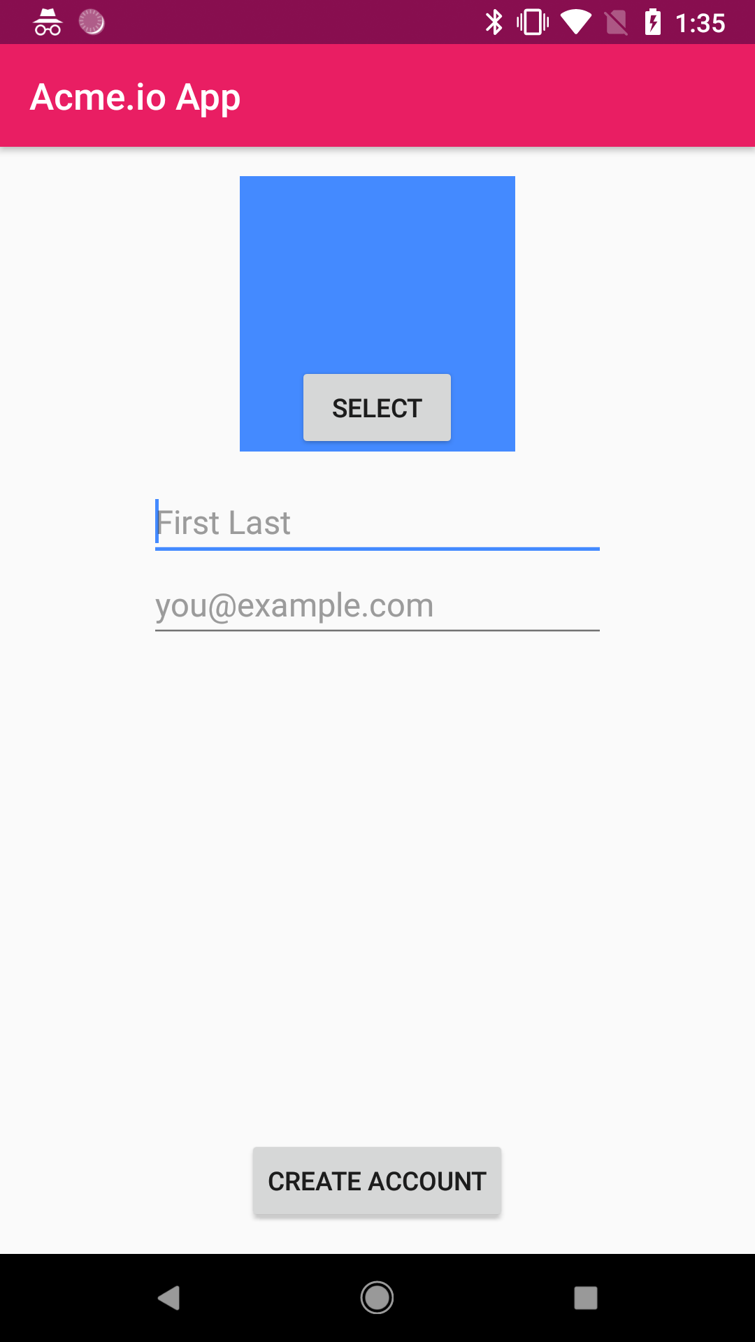 Filestack Docs | Form submission with the Android picker