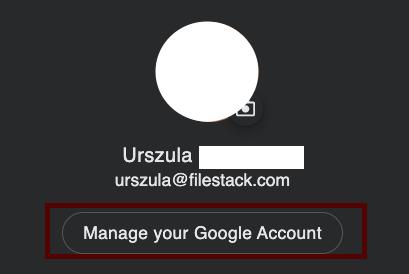 Remove permission- Google